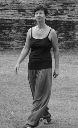 Frau beim Tai Chi Personal Training