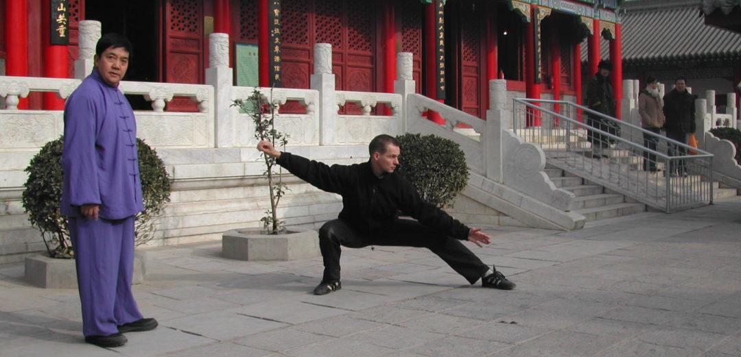 Tai Chi Meister und Schüler