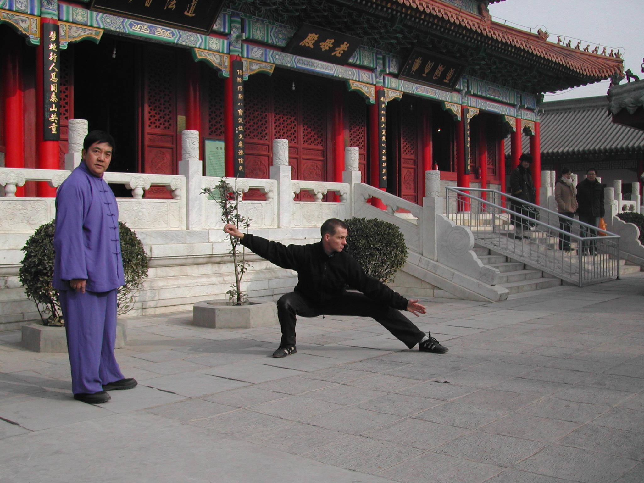 Tai Chi Chuan Unterricht