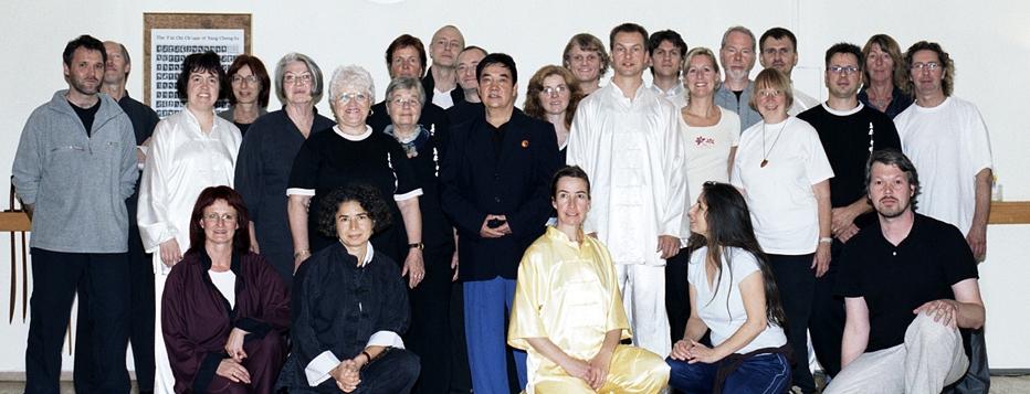 Meister Li in der Hagener Tai Chi Schule 2008
