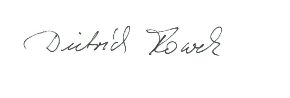 Handschrift eines Tai Chi Lehrer im Allgäu
