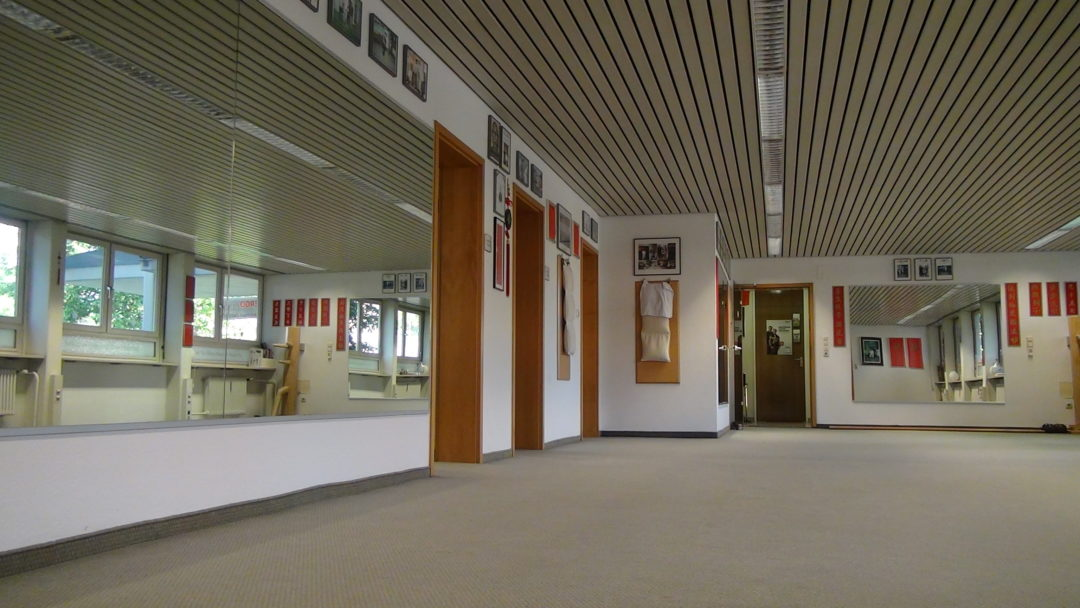 Kung Fu Zentrum Kaufbeuren / Eingang in das Zentrum chinesischer Kampfkünste