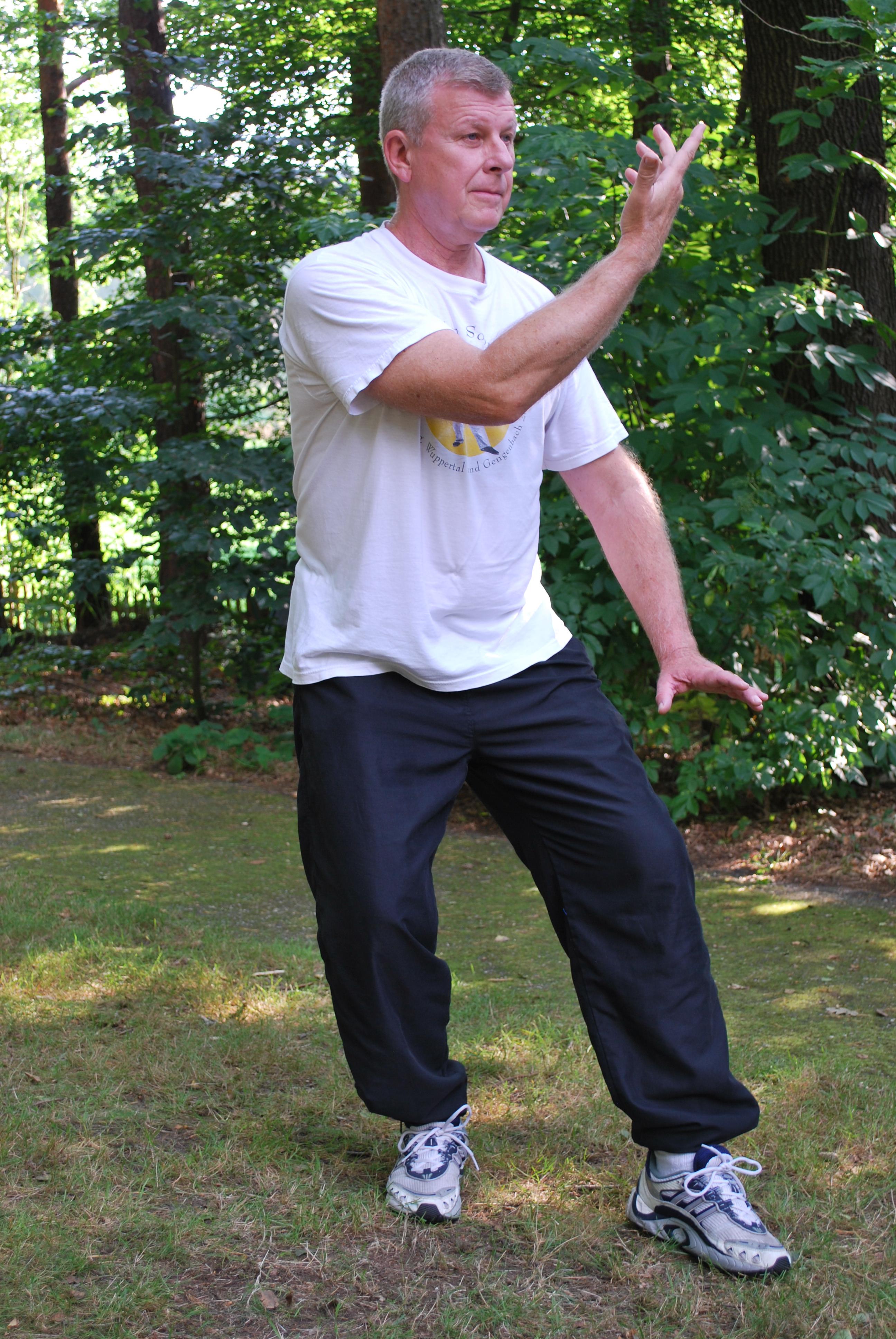 Körperhaltung im Qi Gong