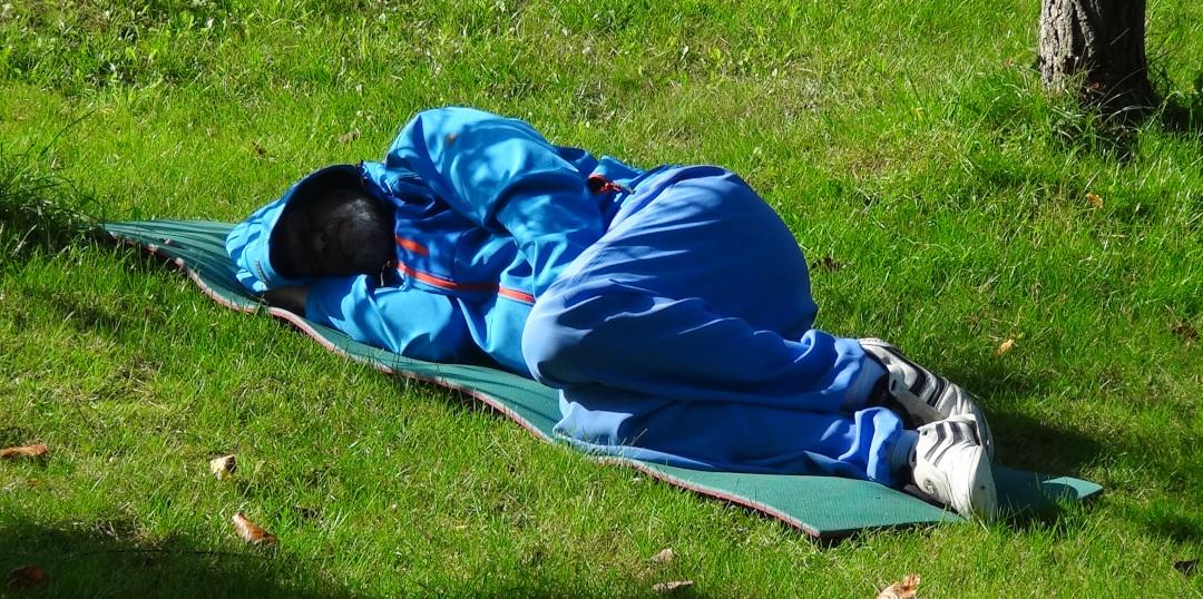 Entspannung im Schlaf